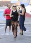 Gwen Stefani - In leopard print out in Los Angeles -01
