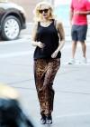 Gwen Stefani - In leopard print out in Los Angeles -04
