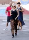 Gwen Stefani - In leopard print out in Los Angeles -07