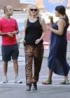 Gwen Stefani - In leopard print out in Los Angeles -14