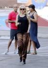 Gwen Stefani - In leopard print out in Los Angeles -15