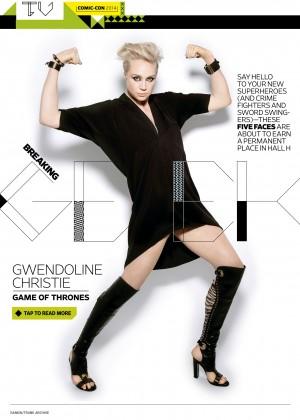 Gwendoline Christie - Entertainment Weekly Magazine (July 2014)