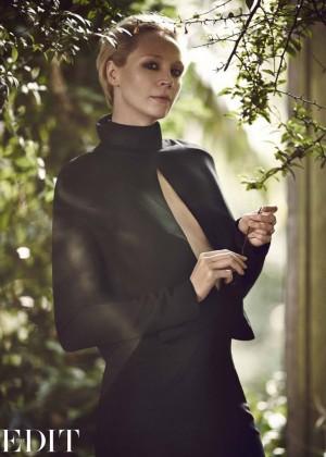 Gwendoline Christie - The Edit Magazine (November 2014)