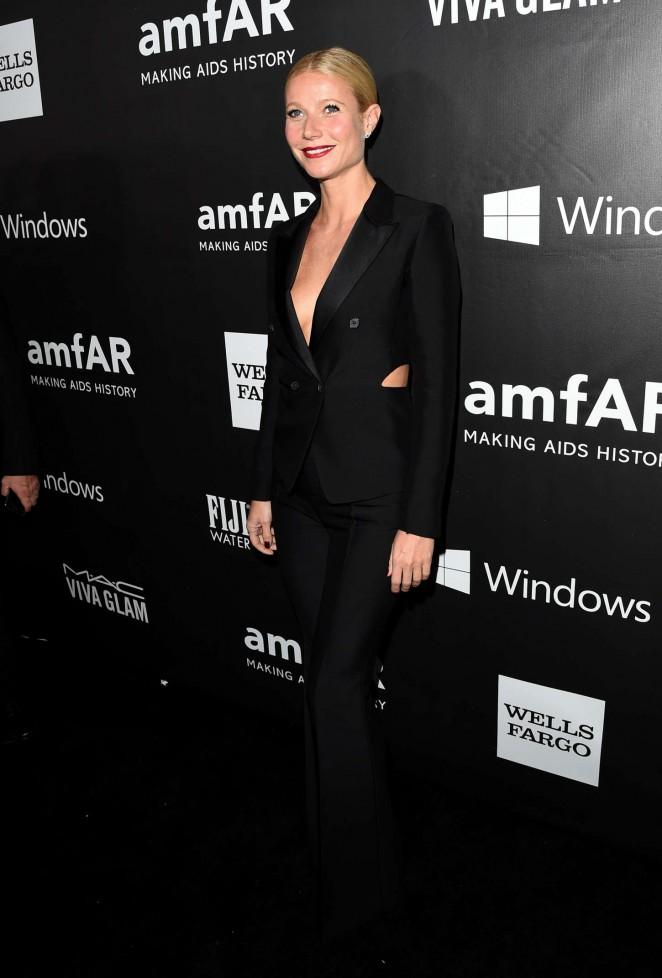 Gwyneth Paltrow - 2014 amfAR LA Inspiration Gala in Hollywood