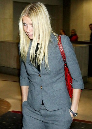 Gwyneth Paltrow at LAX Airport in LA