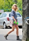 Gwyneth Paltrow - Leggy candids in Beverly Hills