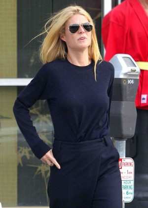 Gwyneth Paltrow out in Santa Monica