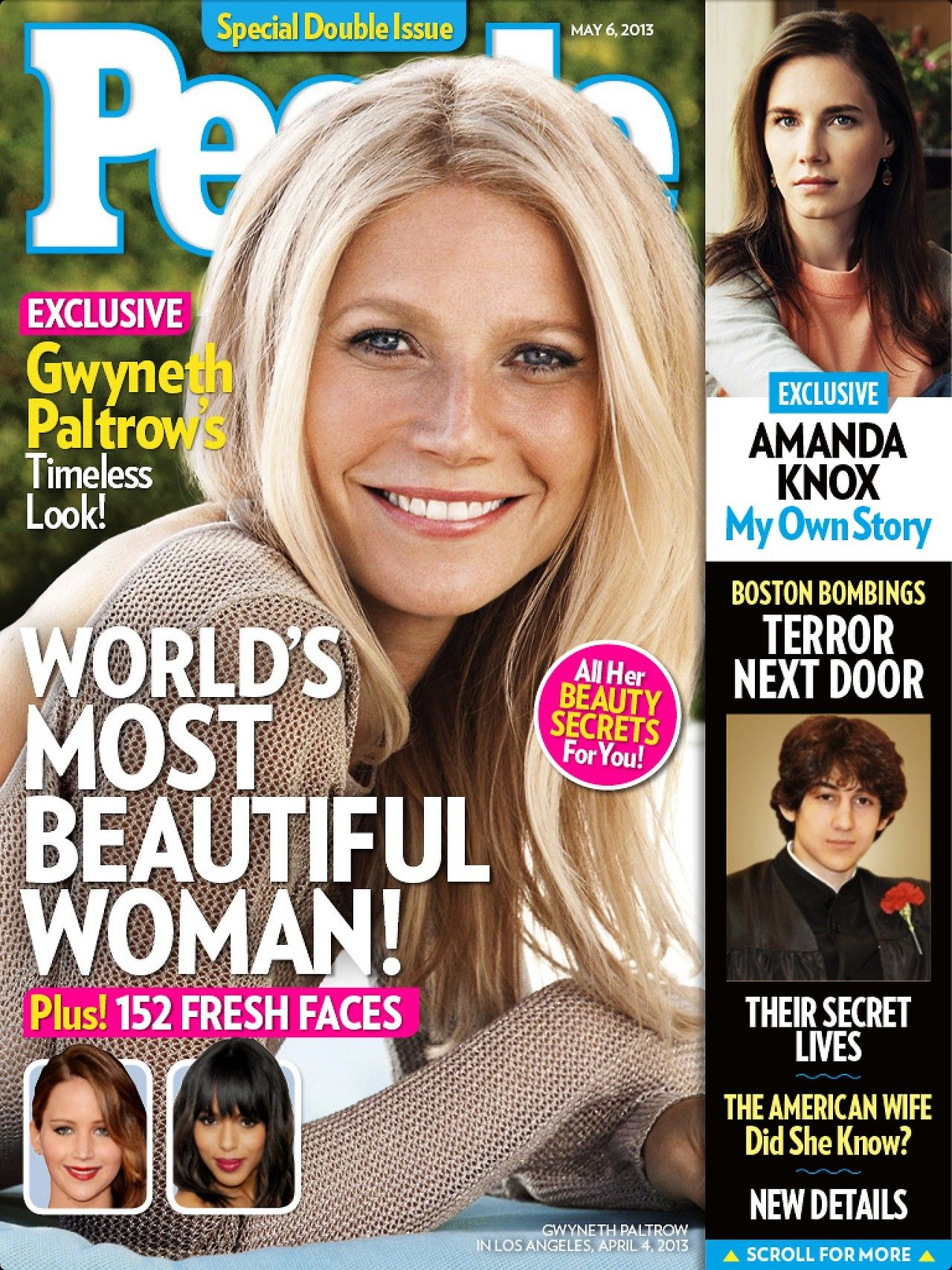 May 2013 Fashion Magazine Covers: People Magazine 2013 -04