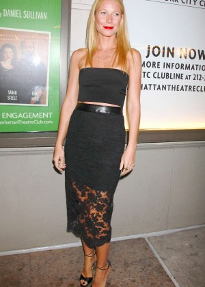 "Gwyneth Paltrow - ""The Country House"" Opening Night in NYC"