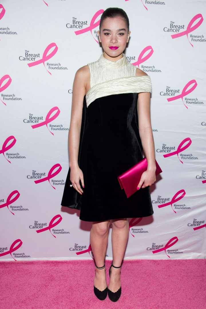 Hailee Steinfeld – Breast Cancer Foundation's Hot Pink Party in NYC