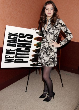 "Hailee Steinfeld - ""Pitch Perfect Sing-Along"" Screening in NY"
