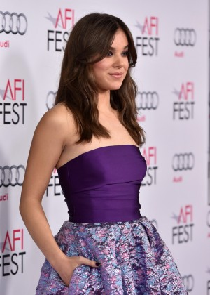 """Hailee Steinfeld - """"The Homesman"""" Screening at the AFI Fest in Hollywood"""