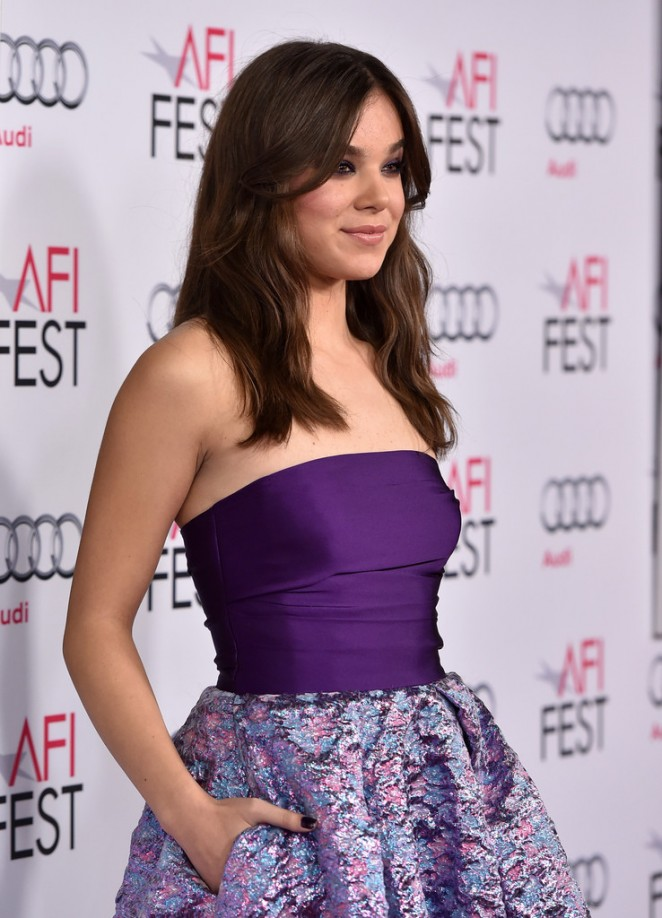 """Hailee Steinfeld – """"The Homesman"""" Screening at the AFI Fest in Hollywood"""