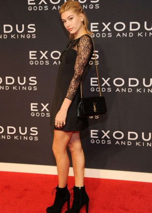 "Hailey Baldwin - ""Exodus: Gods And Kings"" Premiere in New York City"