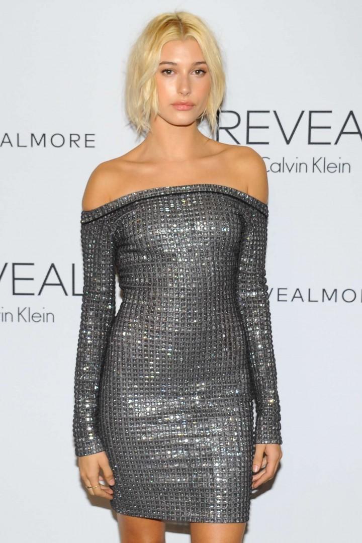 Hailey Baldwin - REVEAL Calvin Klein Fragrance Launch in New York