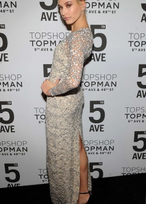 Hailey Baldwin - Topman Flagship Opening Dinner in NYC