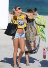 Hailey Baldwin - Wearing a Bikini in Miami-26