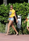 Hailey Baldwin - Wearing a Bikini in Miami-36