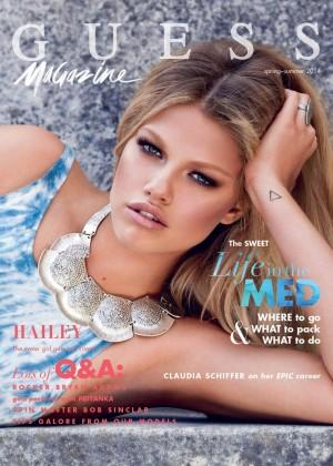 Hailey Clauson: Guess Magazine -03