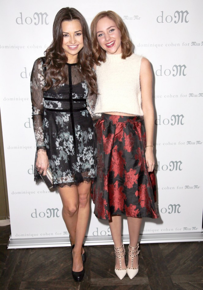 Haley Ramm 2014 : Haley Ramm: Dominique Cohen For Miss Me Holiday Capsule Collection Launch -07