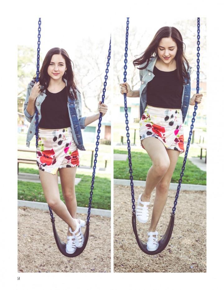 Haley Ramm – NKD magazine (June 2014)