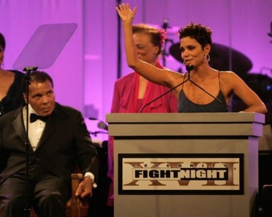 Halle Berry at Muhammad Ali's Celebrity Fight Night XVII