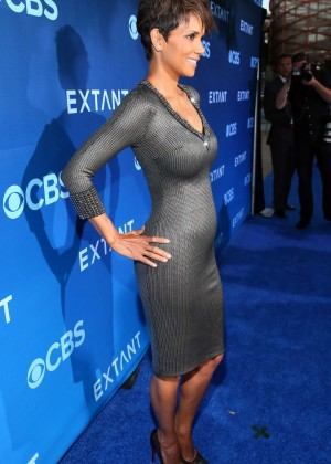 Halle Berry in tight dress -13