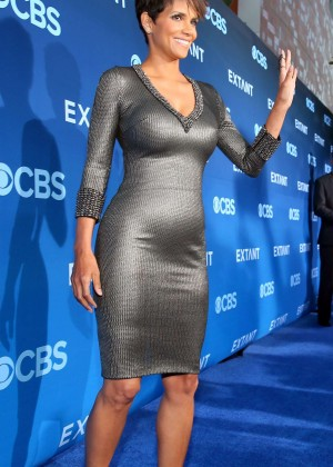 Halle Berry in tight dress -14