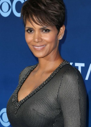 Halle Berry in tight dress -16