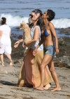 Halle Berry hot in shorts and bikini top-19
