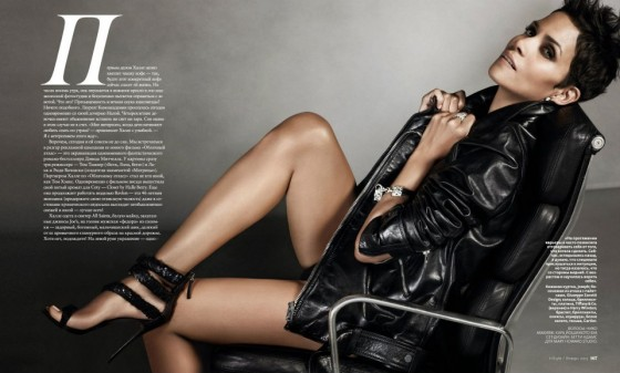 Halle Berry InStyle Russia Photoshoot Jan 2013