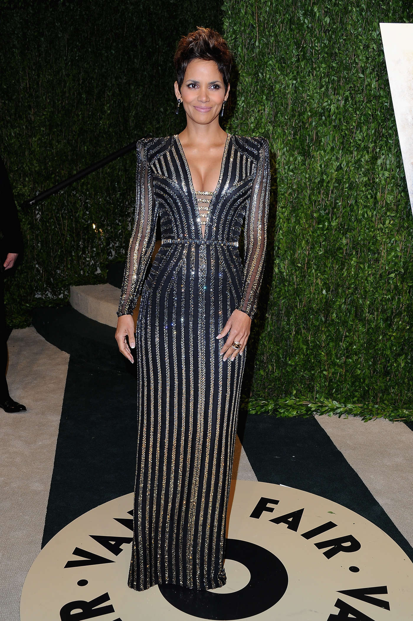... Halle Berry to a birthday party in Los Angeles on Saturday (March 28
