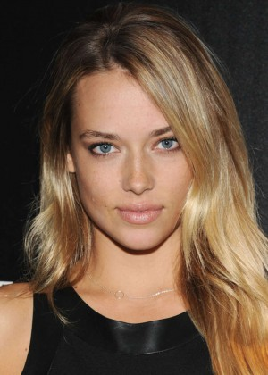Hannah Ferguson: Captain America: The Winter Soldier Premiere -02