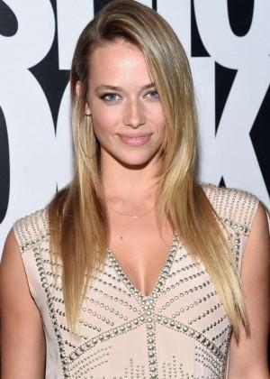 Hannah Ferguson - Fashion Rocks 2014 at the Barclays Center in NY