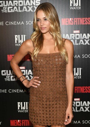 "Hannah Ferguson - ""Guardians Of The Galaxy"" Premiere in NY"