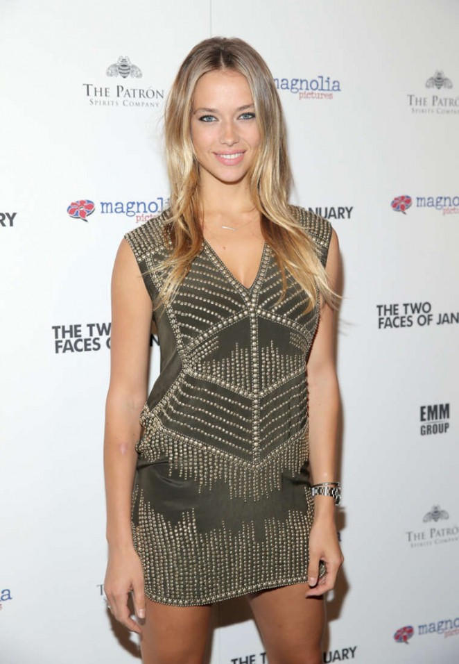 "Hannah Ferguson - ""The Two Faces of January"" Premiere in NY"