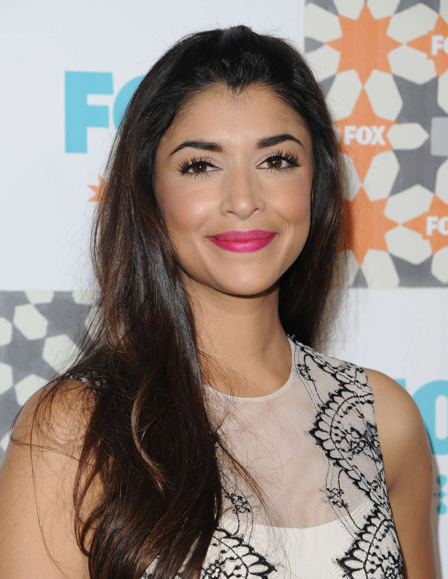 Hannah Simone at 2014 Fox Summer TCA All-Star party in West Hollywood