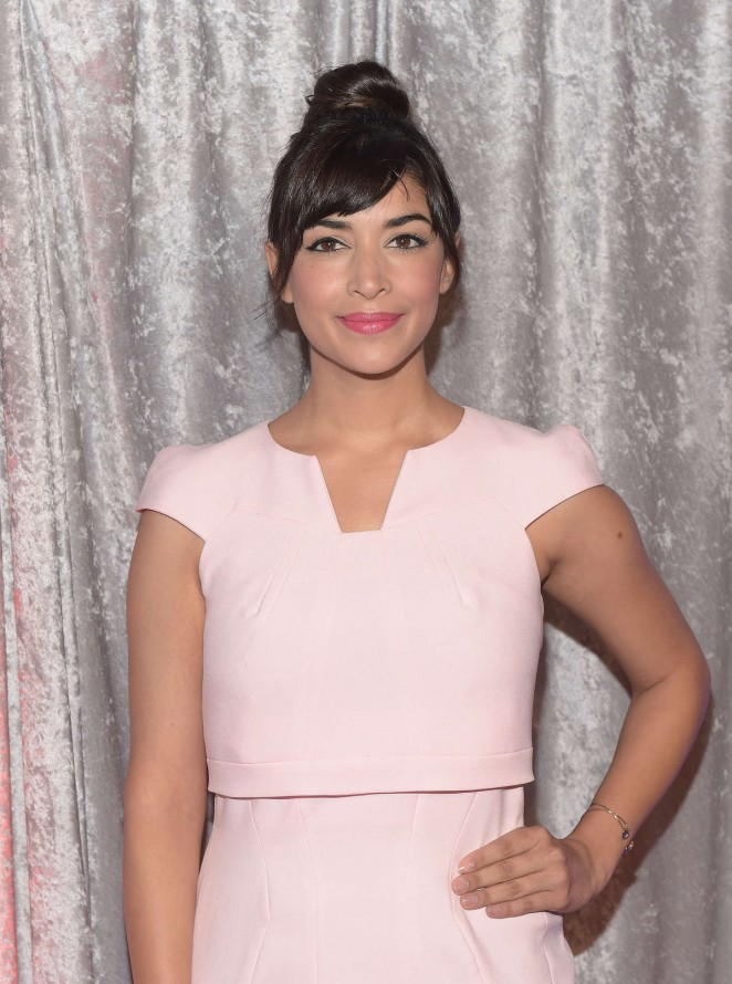 Hannah Simone - 25th Annual IWMF Courage In Journalism Awards in Beverly Hills
