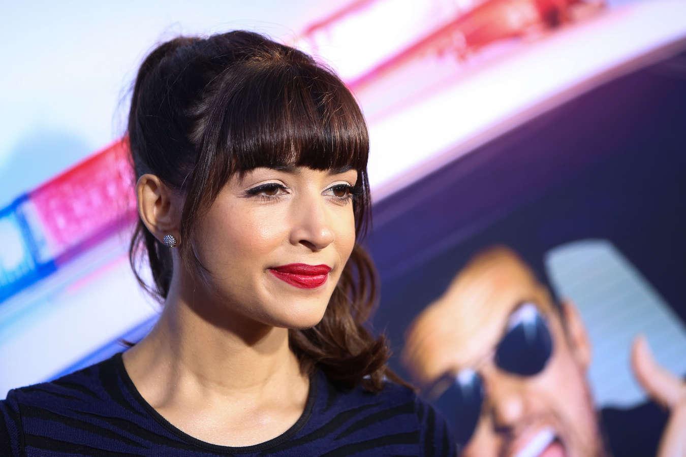 Hannah Simone 2014 : Hannah Simone – Lets Be Cops premiere in LA -10