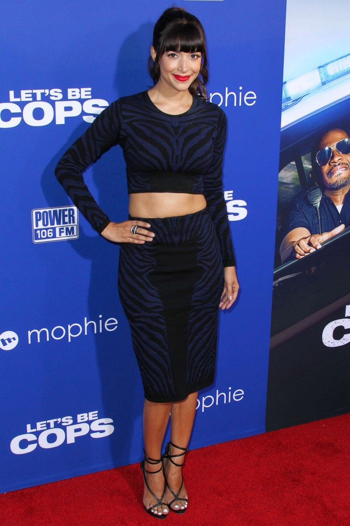 Hannah Simone - Let's Be Cops premiere in LA