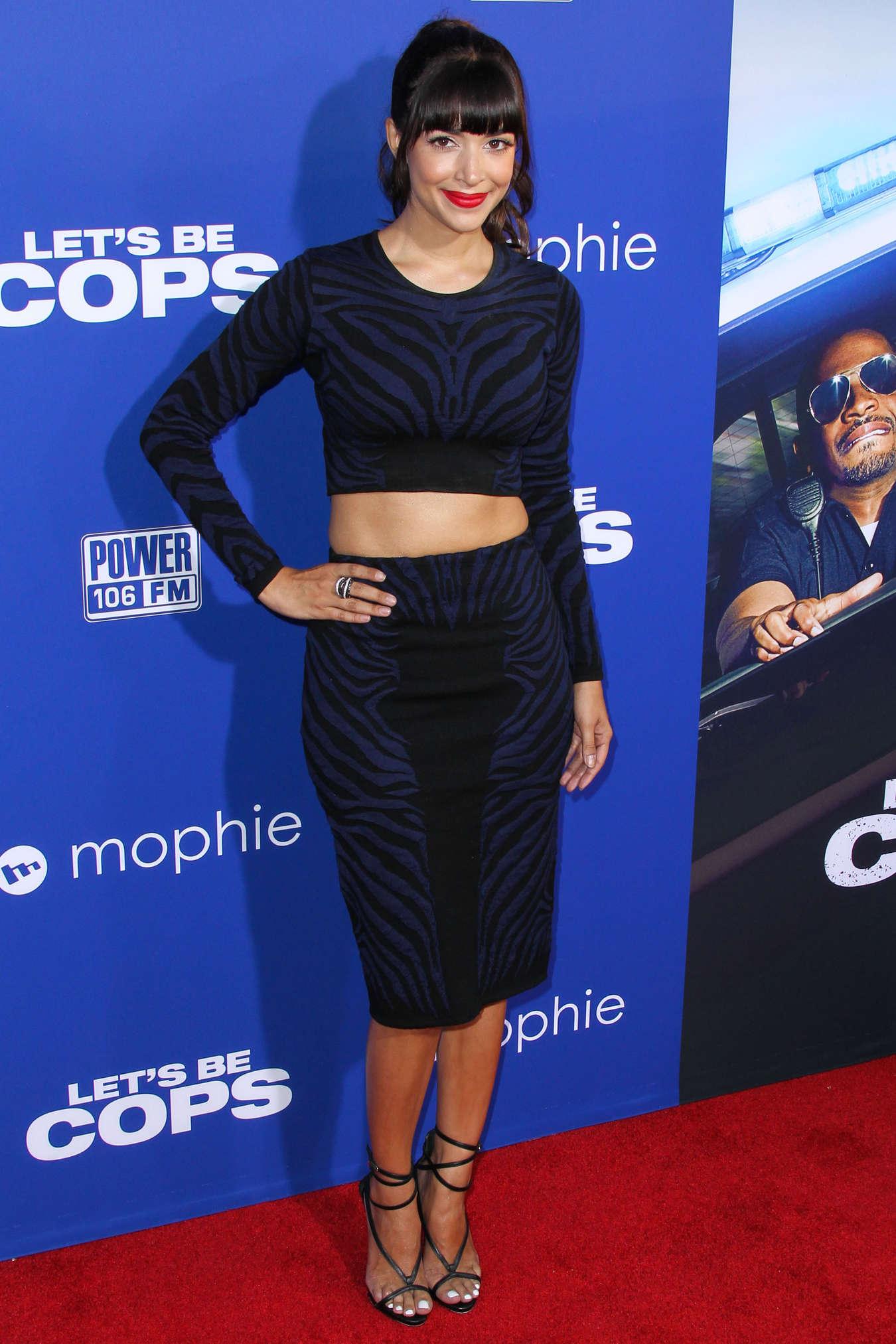 Hannah Simone - Let's Be Cops premiere in LA
