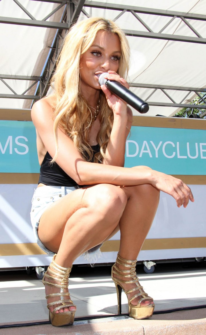 Havana Brown at the Palms Pool in Las Vegas