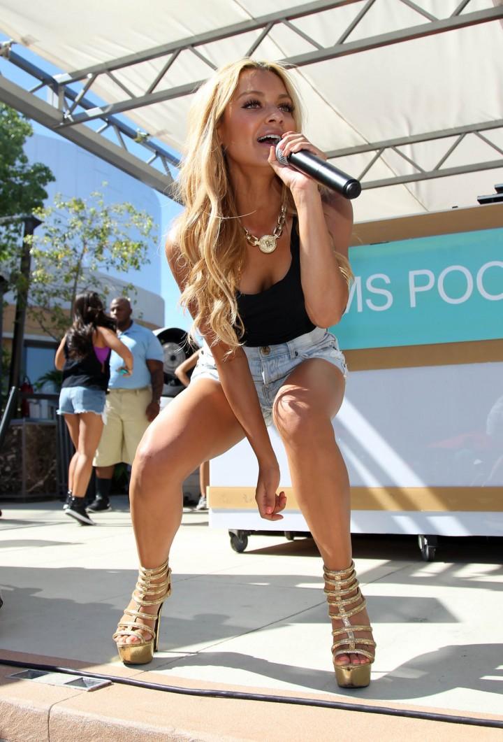 Havana Brown at the Palms Pool in Las Vegas -21