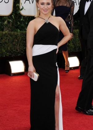 Hayden Panettiere: Golden Globe 2014 Awards -01