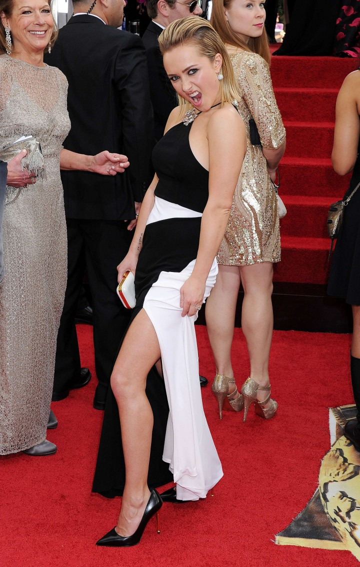 Hayden Panettiere: Golden Globe 2014 Awards -12