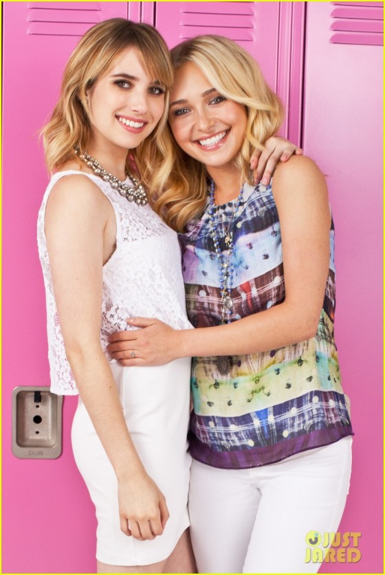 Hayden Panettiere and Emma Roberts – Neutrogena Photoshoot -04