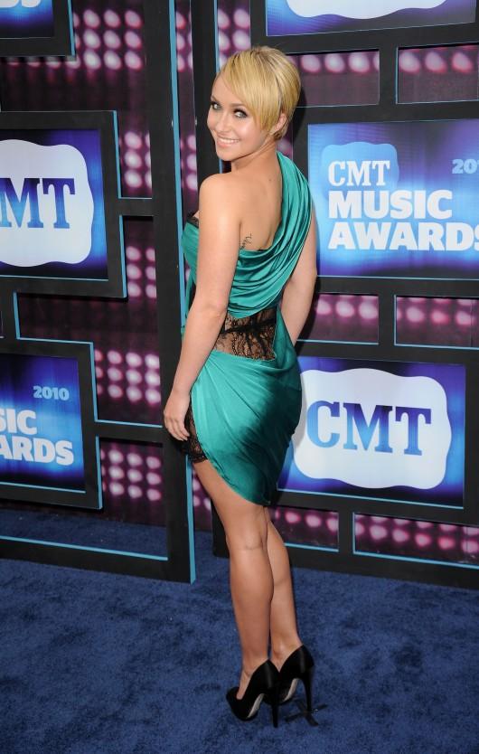 Hayden Panettiere at 2010 CMT Awards in Nashville