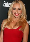 Hayden Panettiere In a red tight short dress at at 2012 Entertainment Weekly - ABC-TV Upfront VIP Party
