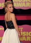 Hayden Panettiere Hot in white skirt and high heels at CMT 2012 Music Awards in Nashville