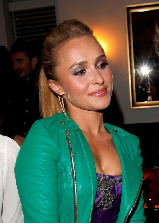 Hayden Panettiere - Dom Perignon & W Magazine Celebrate The Golden Globes in Los Angeles, January 11, 2013